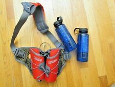 "CAMELBAK ""Delaney DC""  Fit Belt Water , two bottle holsters with bottles"
