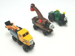 Thomas & Friends Wooden Railway Trevor, Harvey & Butch