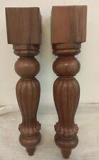 gambe tavolo in legno massello di mogano