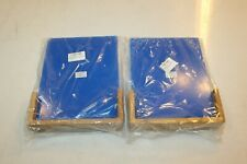 "Clear Plexiglass Tabletop Cardholder Wood Frame 11 X 8 1/2"" Letter Size (2-Pack)"