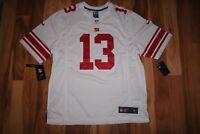 NFL Nike Odell Beckham JR Giants GAME WHITE Jersey Shirt 479395 112 XL,XXL NEW