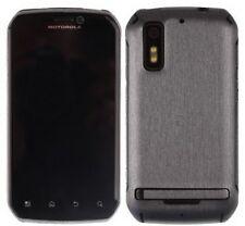 Skinomi Brushed Steel Phone Skin+Screen Protector Cover for Motorola Photon 4G