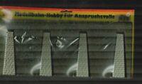 Busch 7031  1x Mauer und 1x Mauer mit Stützpfeiler H0