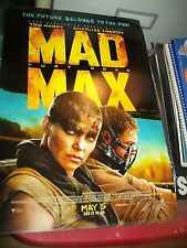Mad Max Fury Road Movie 11x17 Mini Poster - Charlize Theron - Excellent