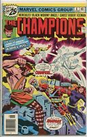 Champions 1975 series # 6 fine comic book