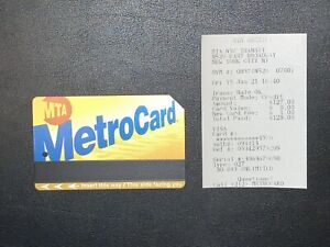 Metrocard Unlimited 30 Day Monthly Brand New Unused MTA NYC Expires 05/22