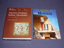 Teaching Co Great Courses DVDs        ANCIENT EMPIRES BEFORE ALEXANDER   + bonus