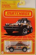 MATCHBOX Target Retro Series: #7 Porsche 911 Rally, 2021 issue (NEW in BLIST)