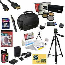 Nikon D5300 Digital SLR Camera 16GB Best Value Accessory Bundle
