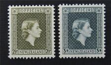 nystamps British New Zealand Stamp # O109.O111 Mint OG NH      S17y3090