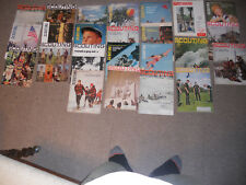 Lot of 24 Vintage 1960-70 Scouting Boy Scout Magazine lot