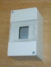 Consumer unit EMPTY ENCLOSURE FOR SELF BUILD   4 (5) module wide    CUE05