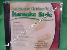 Contemporary Christmas #1 Daywind Christian Karaoke Style~ Christmas Shoes ~CD+G