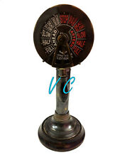 "Antique Brass Ship's Engine Order 15"" Telegraph Nautical Decorative Collectable"