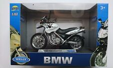 WELLY BMW F650 GS DAKAR 1:18 DIE CAST MODEL NEW IN BOX LICENSED MOTORCYCLE