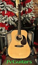 80s SIGMA Martin D18 type EZ Play Setup Martin strings BONE nut SADDLE JVGuitars