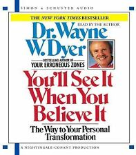 Dr. Wayne Dyer Audiobook - You'll See It When You Believe It :