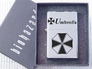 Resident Evil Biohazard Umbrella New Metal Case