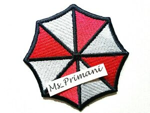 Embroidered RESIDENT EVIL UMBRELLA CORPORATION Iron/Sew On Patch Dress badge