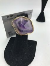 stone ring 7.5 Size R15 $52 Robert Lee Morris purse