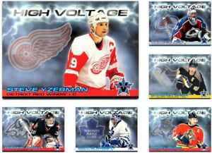 2000-01 Vanguard High Voltage **** PICK YOUR CARD **** From The SET