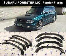 Subaru Forester Fender Flares Wheel Arch Protector JDM Extension Trim 6pcs Black