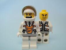 Lego Figur Mars Mission Astronaut mm011 2 Gesichter 5619 7645 7646