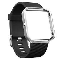 OEM Fitbit Blaze Accessory Replacement Wrist Band & Frame Large Black Original