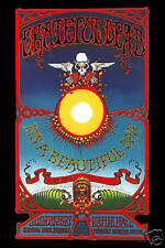 1960's Psychedelic:  The Grateful Dead in  Hawaii Concert Poster from 1969