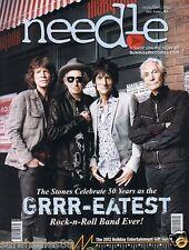 2012 The ROLLING STONES, MUSE, Ty Segall, Wanda Jackson, Needle Magazine