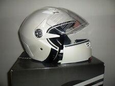 Casco origine Helmets rapido con mentoniera smontabile Bianco Perla Tg. XL