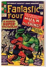 Marvel Comics FN 5.0  HULK v THING BATTLE  FANTASTIC FOUR  #25