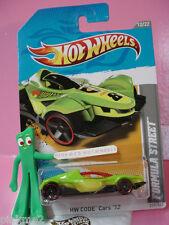 Case A  2012 Hot Wheels FORMULA STREET #237☆lgt GREEN☆Code Cars