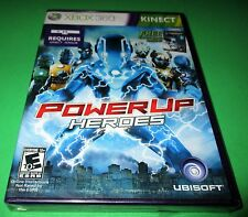PowerUp Heroes Microsoft Xbox 360 *Factory Sealed! *Free Shipping!