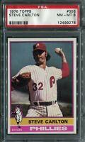 1976 Topps #355 Steve Carlton PSA 8 NM-MT
