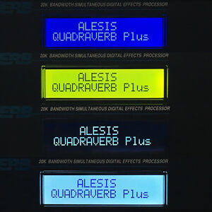 ALESIS QS6 QS7 QS8 SYNTH LCD DISPLAY SCREEN REPLACEMENT - 4 COLOR CHOICES 6 7 8