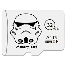 Micro SD Card 32GB Class 10, Memory Card Mini Flash Drive, TF- [ WHITE ]