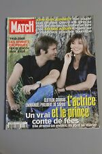 Paris match N°2826 Clotilde Courau Emmanuel de savoie,Paul Belmondo,Avignon