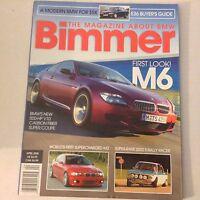Bimmers BMW Magazine Carbon Fiber Super Coupe April 2005 052617nonrh2