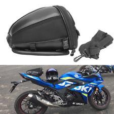 Off Road Dirt Bike Dual Sport Enduro Back Seat Luggage Pack Tail Bag Tool Case