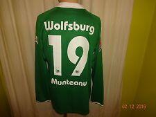 VfL Wolfsburg Nike Langarm Matchworn Meister Trikot 2008/09 Nr.19 Munteanu Gr.L