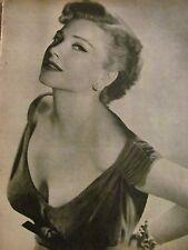 Anne Baxter, Full Page Vintage Pinup