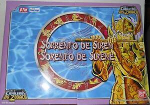 2005 Bandai Saint Seiya Sorrento of Siren Knights of the Zodiac MIB