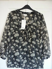 3/4 Sleeve Blouses Fitted Floral Tops & Shirts for Women