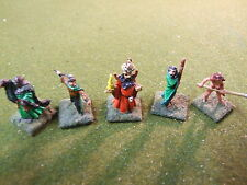 5 Adventurer Eroi in metallo verniciato (2453) Dungeons & Dragons