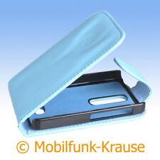 Flip Case Etui Handytasche Tasche Hülle f. Nokia Asha 501 (Türkis)