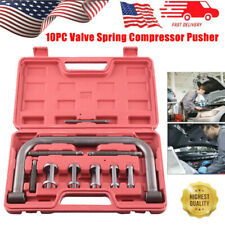 10Pcs Valve Spring Compressor C-Clamp Service Kit Automotive Tool Motorcycle ATV