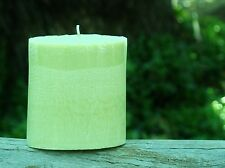 80hr MUSK PATCHOULI Natural Triple Scented OVAL CANDLE Herbal Home Fragrances