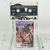 Big Daddy Kane It's A Big Daddy Thing Cassette Tape Rap Hip hop 1989