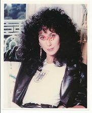 """Cher Candid 8"""" x 10""""  Color Photo Wearing Her Bundeswehr T Shirt-1990s-#40"""